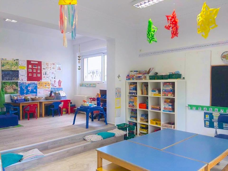 The Middle Section classroom (ages 4-5)