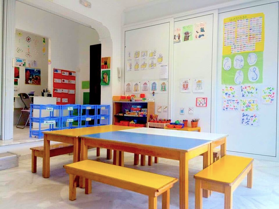The Big Section classroom (ages 5-6)